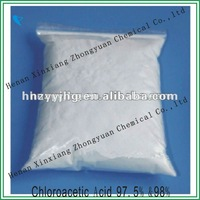 Factory supply price chloroacetic acid 97.5%