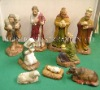 wooden religious craft set