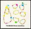 70cm length Fashion Wood Jewellery Toy