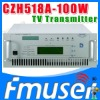 CZH6518A-100W Single-channel Analog TV Transmitter UHF 13-48 Channel tv transmitter and receiver
