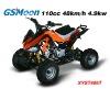 very cheap air cooled all terrain mini ATV 110cc