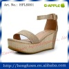 ELEGANT HIGH HEEL WEDGE LADY SANDAL SHOES