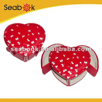 Promotional Mini jewelry case heart-shaped
