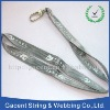 shiny nylon lanyard