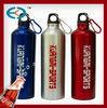 carabiner design ice stick subzero aluminum water bottle