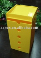 Yellow Acrylic Donation Box