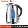 Stainless Steel Electric Kettle With Blue LED light