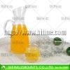 glass jug and cu set,water jug,drinkware glass