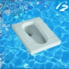Ceramic Sanitary Ware S-trap Squatting Pan
