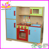 Hot selling Kids wooden pretend kitchen with factory price and top quality