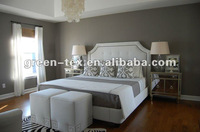 White Cotton bed set and bedding set for hotel