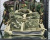 Multicam camo. US Genuine Combat multi-function military backpack
