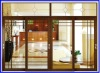 aluminium sliding doors with fixed