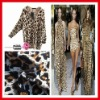 Dubai Leopard polyester spandex fabric