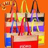 Fashion Two-Tone tote shopping bag