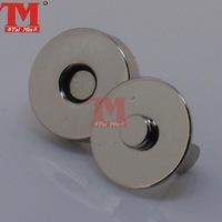 handbag magnet button