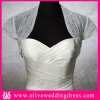 LV90001 Short sleeve Tulle Wedding dress jackets
