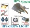 600 Watt Grow Light System WING REFLECTOR HOOD Electronic Ballast Kit
