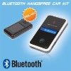 Latest solar bluetooth hands free car kit