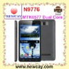 Hot sell 6.0 inch Smart phone N9776 With Dual core MTK6577