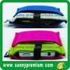 Multi- function Colorful Felt Mobile Phone Pouch with two pockets