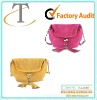 cute double-use tote bag with pendant for decoration
