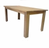 solid wood dining table Dining Table ,All Solid Oak ,KD style ,natural color