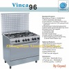 Vinca Series Cooker with Oven