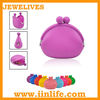 New Cute Lady Women Silicone Coin Purse