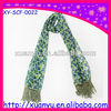 wholesale shawl little flower printed mullmull scarf Polyester hood