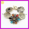 Wholesale Vintage Jewelry Vogue Flower Pattern Bracelet 2012 SZ-514