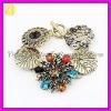 Wholesale Vintage Jewelry Vogue Flower Pattern Bracelet 2012 SZ-514