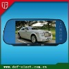 car LCD display rearview mirror monitor with mp4