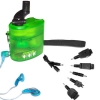 Outdoor Travel use Emergency crank/dynamo mobile charger with FM radio