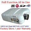 Full function projector,USB HD Video TV SD projector