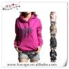 Girls custom hoodies /cheap korean women winter hoodie