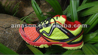 Environmental new design sport shoes-2013 ecnomic hiking sprots shoes -brand name running shoes