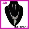 wholesale bridal wedding jewelry necklace and earrings sets