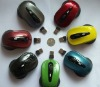 2011 2.4G wireless mouse with 2 buttons