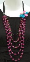 art necklace handcraft