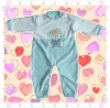 Soft hand feel and comfortable  baby wear--fashion baby romper
