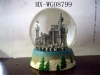 resin water globe,crystal globe,home decoration