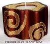 Candle holder (Mini candle holder, Ceramic candle holder)