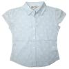 [LEAP]Girls' Floral print cap sleeves blouse(Child garment,child wear)