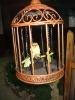 Polyresin Crafts,Bird cage,Solar