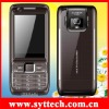 SE85 dual camera mobile phone with flashlight,three card standby