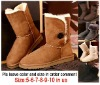 Free shipping  New  classic 5803 women winter boots US size 6-10 made in china have 4 colors