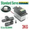 Standard Servo, 3KG RC Model Servo for RC Accessories