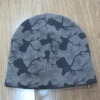 Camouflage  hat,Camouflage knit hat,