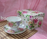 200CC 2PCS Porcelain Cup and Saucer set, Coffee set, Tea set